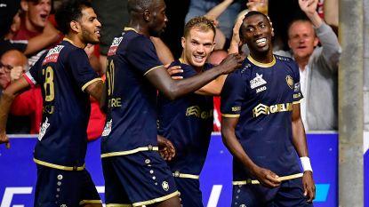 VIDEO. Antwerp zet ongeslagen reeks verder na winning goal van Owusu op het veld van Moeskroen