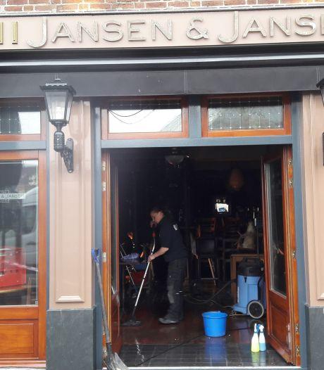 Jansen & Jansen in Schijndel mogelijk over anderhalve week weer open na brand