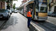 Aanrijding tussen tram en vijf auto's