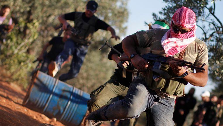 Syrië is het gevaarlijkste land ter wereld voor journalisten. Volgens het Comité ter Bescherming van Journalisten werden in 2013 61 journalisten ontvoerd. Beeld AP
