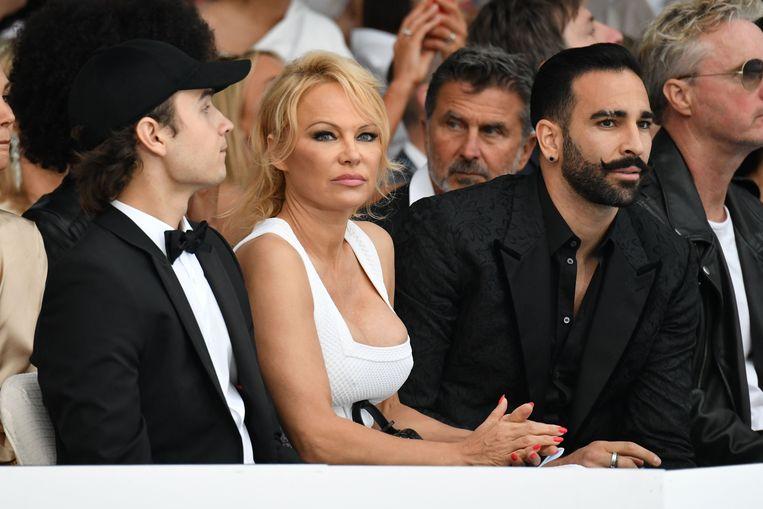 Anderson en Rami op een event in Monaco.