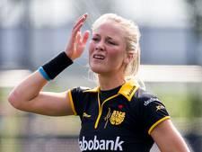 Hockeysters Den Bosch zetten Amsterdam opzij in eerste finaleduel