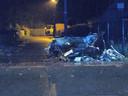 Het ongeval gebeurde in de Bevrijdingsstraat.