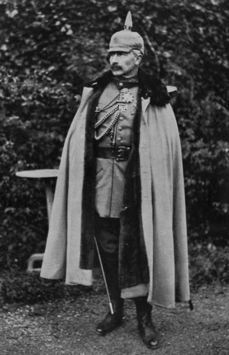 De Duitse keizer Wilhelm II abdiceerde op 9 november 1918. Hij leefde nog lange tijd in Huis Doorn en stierf daar op 4 juni 1941.  Beeld Getty Images