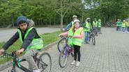 Zesdeklassers leggen fietsexamen af