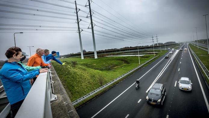 Het nieuwe deel van de A4 werd eind vorig jaar geopend. De snelweg is een stuk drukker geworden.