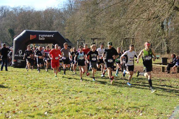 De lopers konden kiezen tussen een parcours van 7, 11 of 15 kilometer.