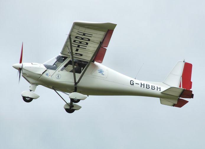 Een Comco Ikarus C42, het type vliegtuig dat neerstortte