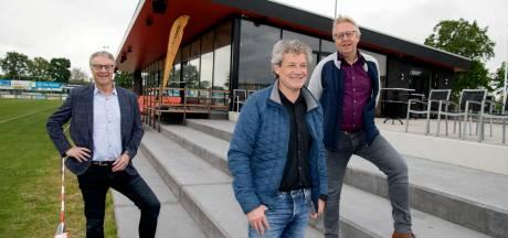 Zo ziet het nieuwe clubhuis van SV Nieuwleusen eruit