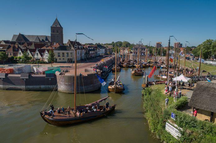 De 25ste editie van de Oostwal Botterrace in Kampen, vorig jaar.