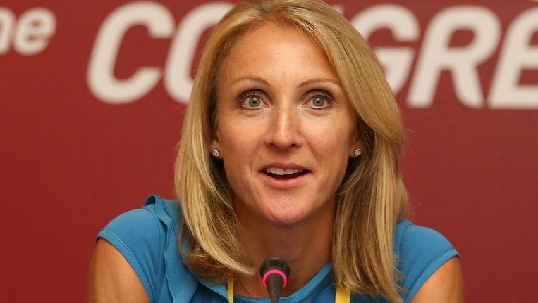 Paula Radcliffe. Beeld getty