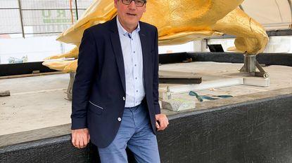 Schildpad Jan Fabre is terug