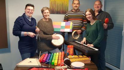 Fanfare laat mensen met mentale beperking samen muziek maken