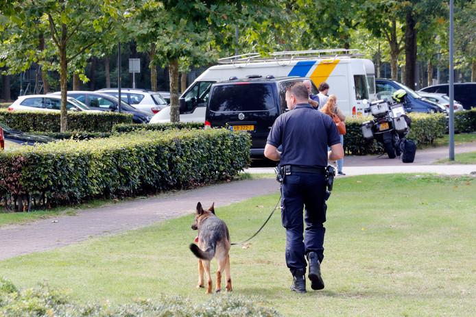 De politie startte meteen een grootschalig onderzoek.