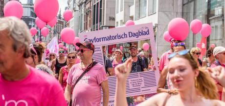 Kijk live mee: de Pride Walk van Roze Maandag op de Tilburgse kermis