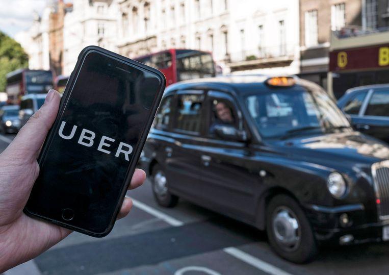 Uber verloor haar licentie in Londen.