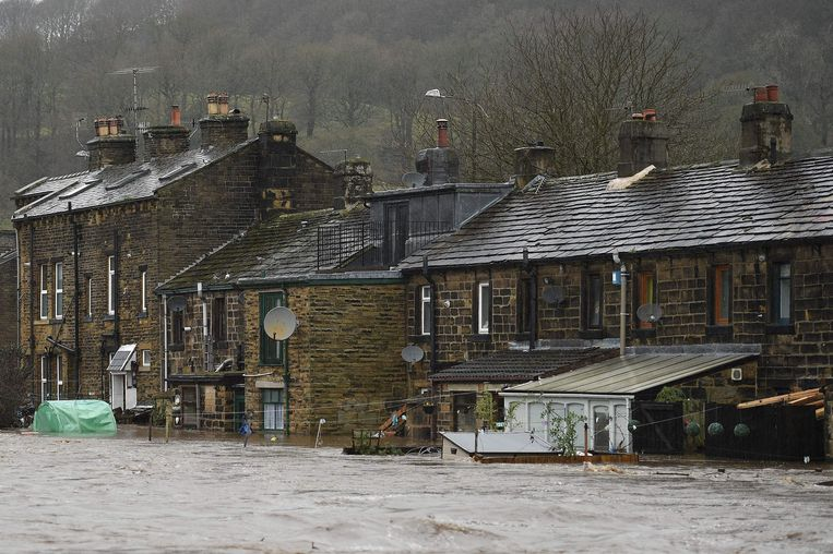 Mytholmroyd in het graafschap West Yorkshire.
