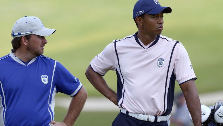 Tiger Woods (rechts): 62,3 miljoen dollar. Beeld ap
