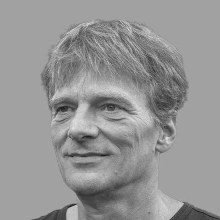 Fysisch oceanograaf Hans van Haren.  Beeld .