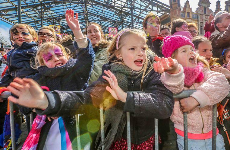 Optreden K3 in Plopsaland foto : Henk Deleu