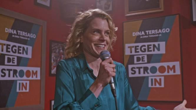 Dina Tersago waagt zich voor 'Ze Zeggen Dat' aan een carrière als stand-up comédienne