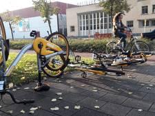 oBike heeft de handen vol aan neergekwakte fietsen