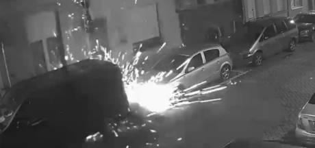 La police diffuse des images de l'attaque à la grenade de Borgerhout