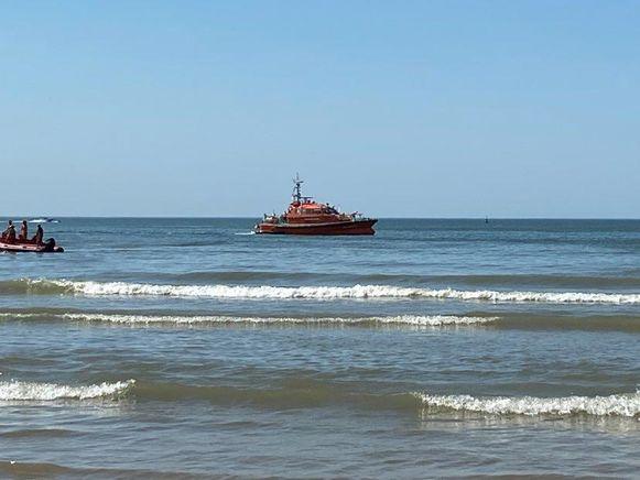 (Archiefbeeld) Er werd onder meer gezocht met een reddingsboot van DAB Vloot, de scheepvaartpolitie, de brandweer en de strandredders.