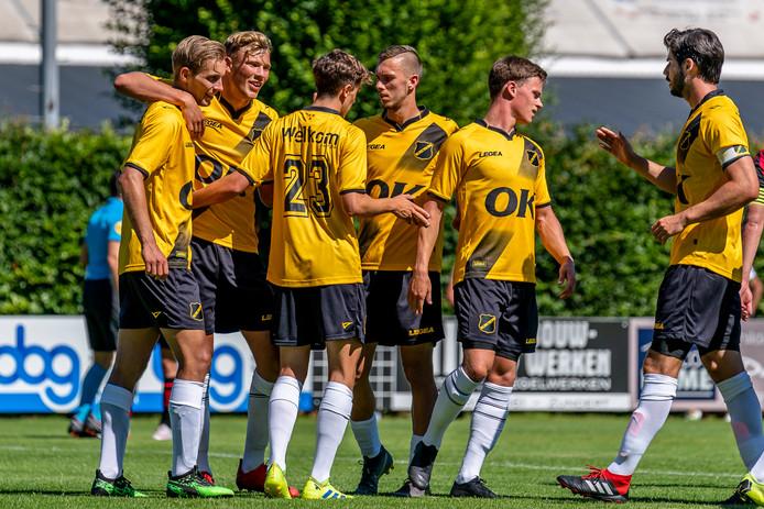 NAC speelt eerste oefenduel van het nieuwe seizoen.