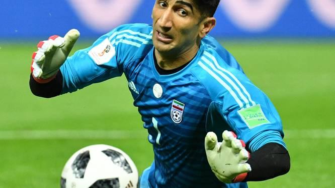 Iraanse doelman arriveert in Antwerpen