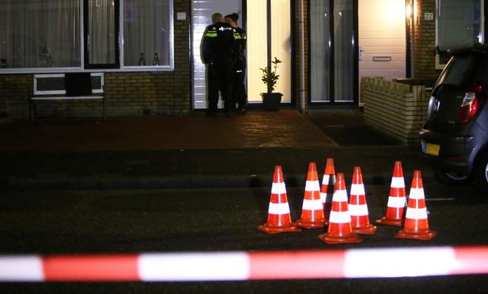 De beschoten woning in Den Bosch.