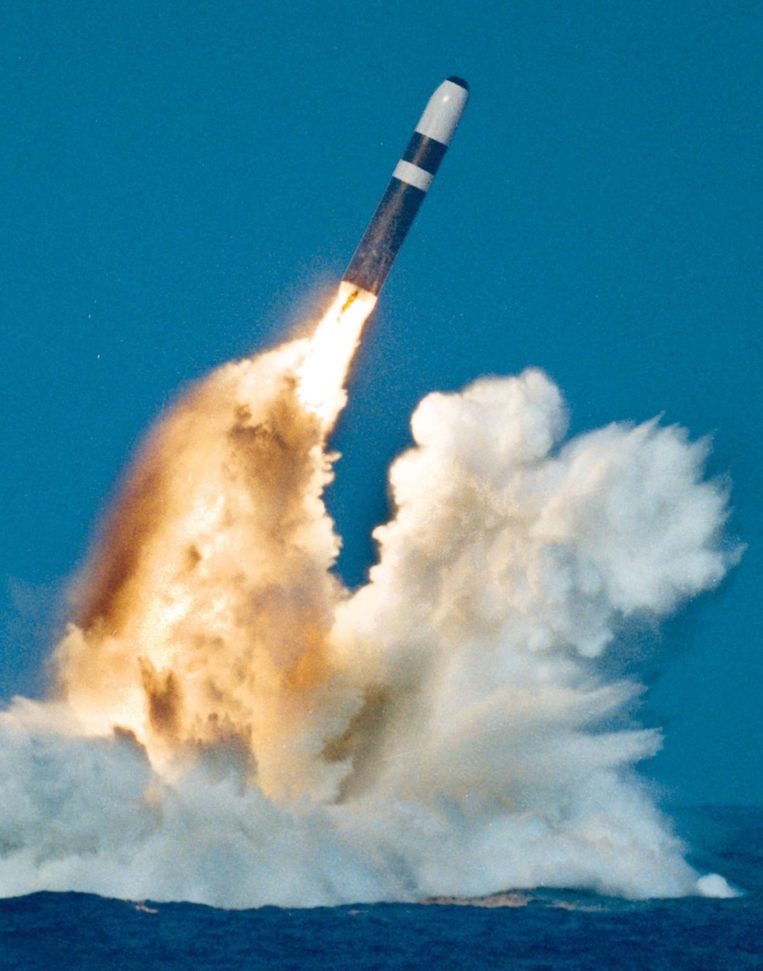 Een Trident-raket. Beeld reuters