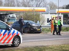 Ongeluk op A58 bij Gilze; geen gewonden