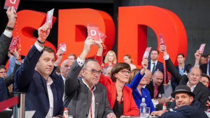 Duitse SPD -met nieuwe leiding- stapt niet onmiddellijk uit coalitie met Merkel