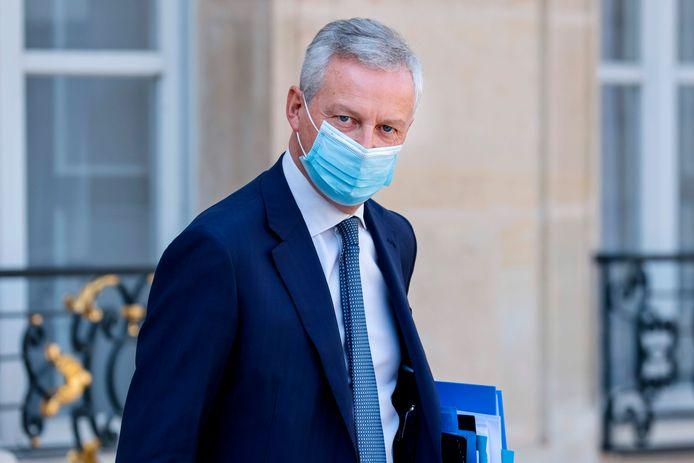 Frans minister van Financiën Bruno Le Maire
