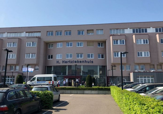 Het Heilig Hartziekenhuis in Mol.