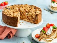 Wat Eten We Vandaag: Appelkruimeltaart