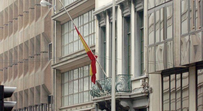 Ambassade espagnole à Bruxelles.