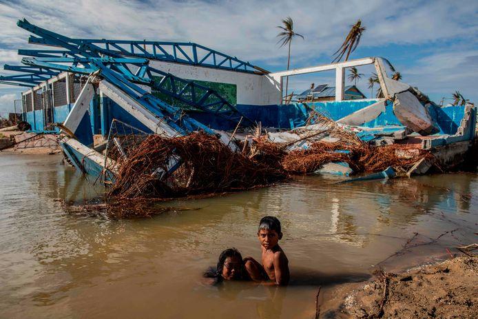 Nicaragua na doortocht van orkaan Iota.