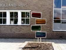 Glaskunstwerk siert de gevel van de Kunstkamer in Scherpenisse