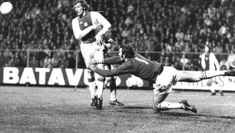 Ajax - FC Den Haag (1973) Beeld anp