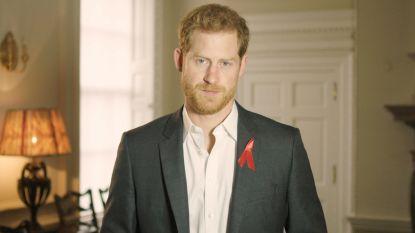 Prins Harry roept alle Britten op om hiv-test te ondergaan