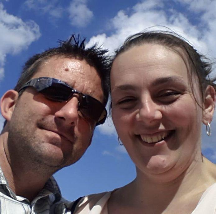 Elliott en zijn vrouw Donna toen de ziekte de kop nog niet had opgestoken.