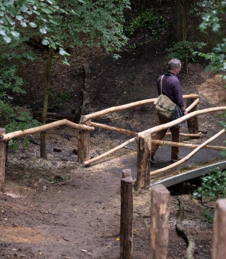 Het bruggetje in het Kastanjedal in Beek haalde zelfs Beau, en is inmiddels aangepast