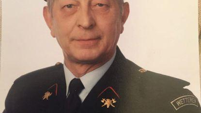 Ere-sergeant-majoor bij brandweer August Chys overleden