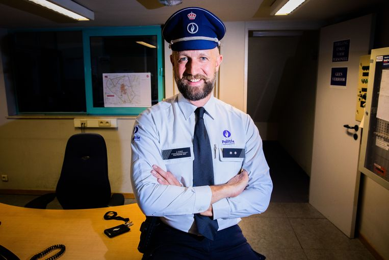 Jurgen Claus werkt als politie-inspecteur in Gent en is sinds kort ook Mister Bear Belgium.