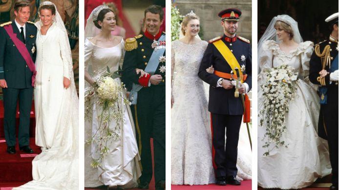 Poll: Welke van deze tien koninklijke bruidsjurken vind jij het mooist?