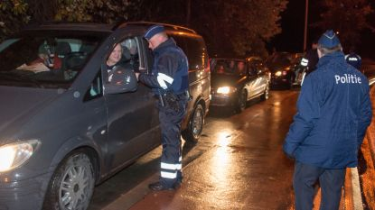 19 personen dronken achter het stuur betrapt