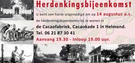 Japanse capitulatie herdacht in Helmond