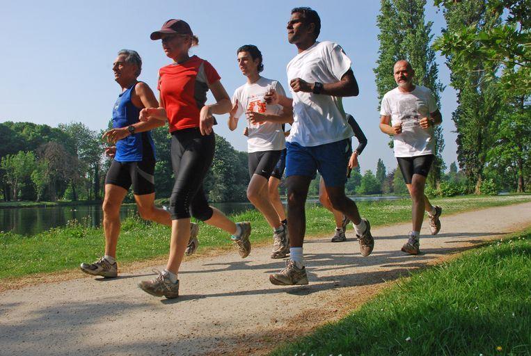 Illustratiebeeld: joggers.